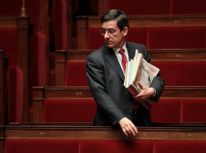 Charles-Amédée de Courson, président UDI de la commission d'enquête parlementaire sur la gestion par le gouvernement de l'affaire Cahuzac.