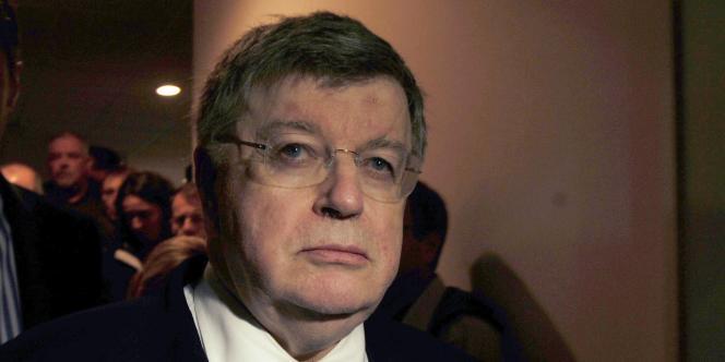 Didier Lombard, ex-PDG de France Télécom, en 2009, à Lannion.