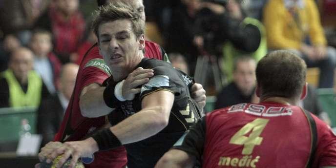 Absent sur blessure, Xavier Barrachet n'a pas pu aidé Chambéry à éliminer Ciudad Real en Ligue des champions, samedi.