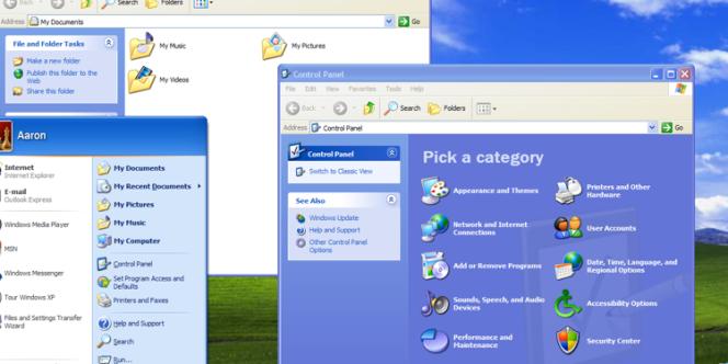 Windows XP, sorti en 2001, reste le système d'exploitation d'un ordinateur connecté à Internet sur deux dans le monde.