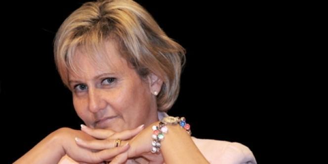 Nadine Morano à Paris, en 2008.
