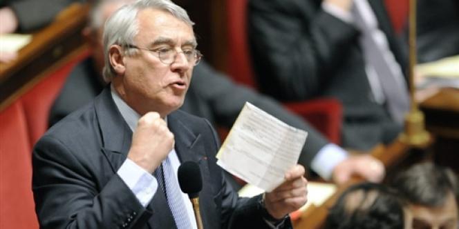 Le député UMP et maire du 16e arrondissement de Paris, Claude Goasguen, en mars 2009.