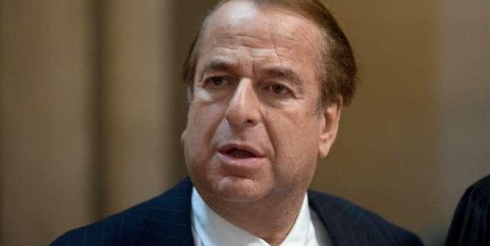 Le romancier Paul-Loup Sulitzer, le 27 octobre 2009.