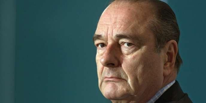 Jacques Chirac en mars 2001.