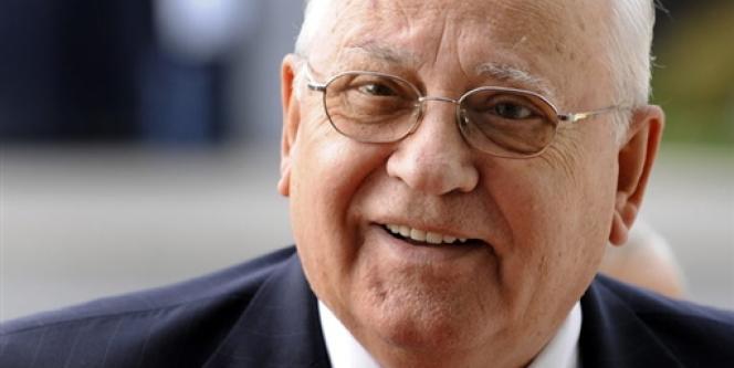 L'ancien dirigeant de l'URSS Mikhaïl Gorbatchev, en octobre 2009 à Genève.