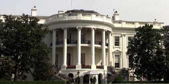 Vue de la Maison Blanche à Washington.