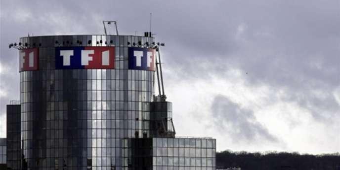Le siège de TF1 à Boulogne-Billancourt, le 9 mars 2008.