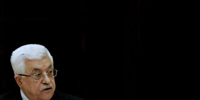 Mahmoud Abbas, président de l'Autorité palestinienne depuis janvier 2005.