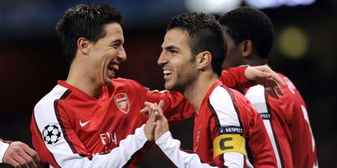 Samir Nasri et Cesc Fabregas, futurs ex-Gunners ?