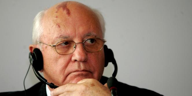 Mikhaïl Gorbatchev en octobre 2006.