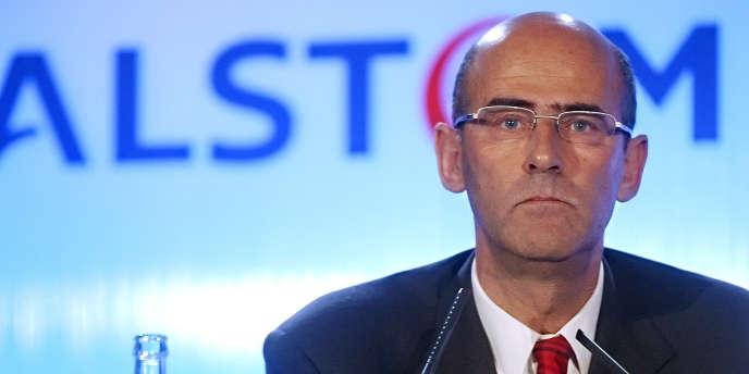 Patrick Kron, le PDG d'Alstom.