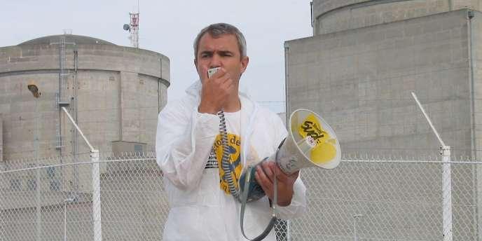 Stéphane Lhomme, militant antinucléaire.