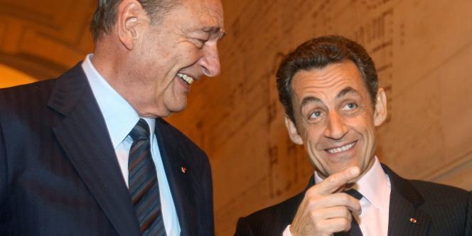 Jacques Chirac et Nicolas Sarkozy réunis le 5 novembre pour remmetre le prix de la fondation Chirac.