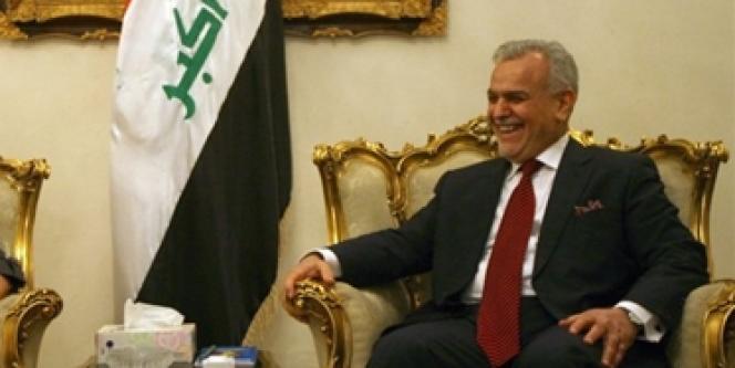 Le vice-président irakien Tarek Al-Hachémi, à Bagdad, le 2 novembre 2009.