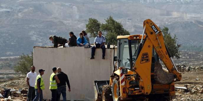Une colonie juive près de Ramallah, le 4 novembre.