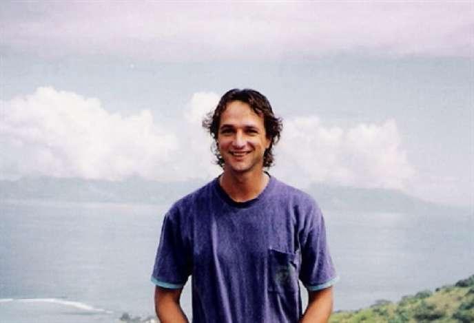 Photo non datée du journaliste polynésien, Jean-Pascal Couraud, disparu dans la nuit du 15 au 16 décembre 1997.