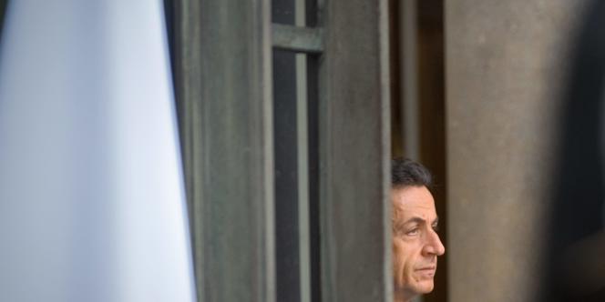 Nicolas Sarkozy, le 11 novembre 2009 à Paris.