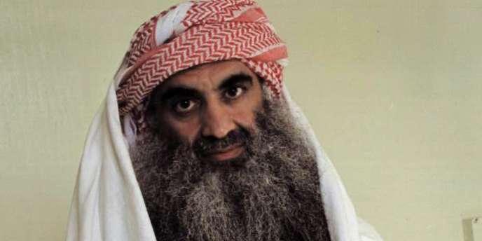 Khaled Cheikh Mohammed, cerveau présumé des attentats du 11 septembre 2001.