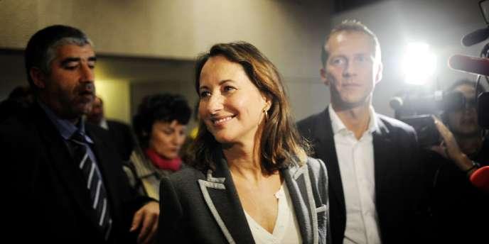Ségolène Royal, le 14 novembre 2009, à Dijon.