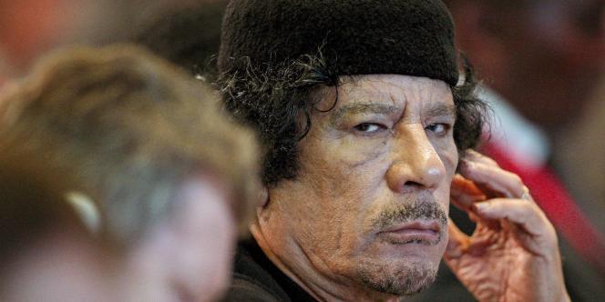 Mouammar Kadhafi, le 16 novembre 2009.