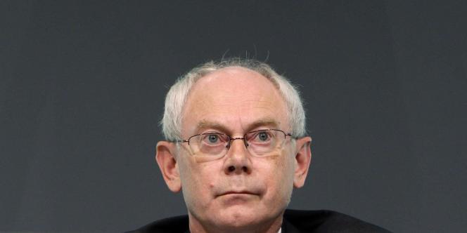 Le Belge Herman Van Rompuy, président du Conseil européen.