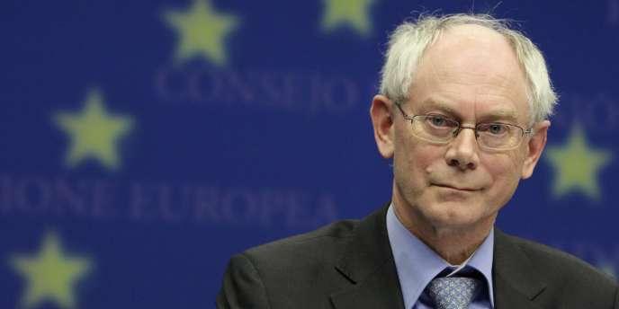 Herman Van Rompuy à Bruxelles, en novembre 2009.