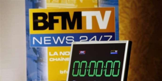 La chaîne d'information en continu BFM-TV.