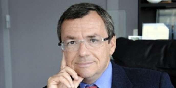 Le patron de BFM-TV, Alain Weill, à Paris en octobre 2008.