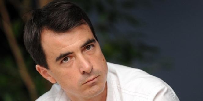 Olivier Ferrand, candidat dans la 8e circonscription des Bouches-du-Rhône.