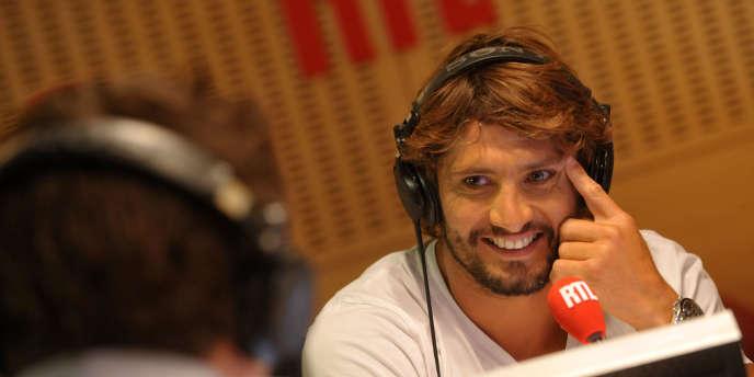 L'ancien joueur de football, Bixente Lizarazu (ici au micro de RTL), reconverti commentateur sportif.
