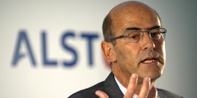 Le PDG d'Alstom, Patrick Kron.