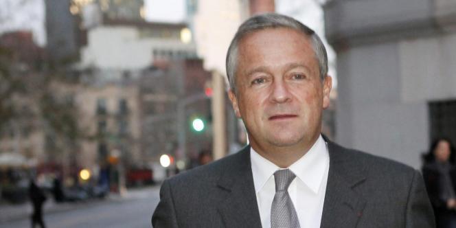 Jean-Marie Messier, le 20 novembre 2009 à New York.