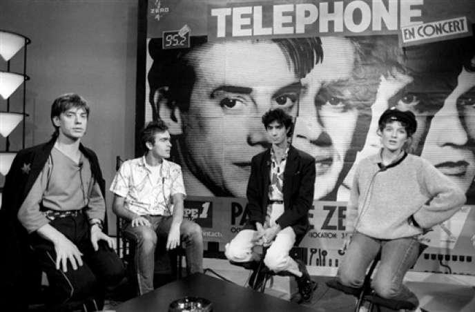Dissous depuis 1986, le groupe Téléphone pourrait se reformer.