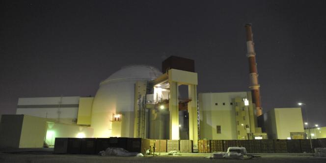 La centrale nucléaire de Bouchehr, en Iran.