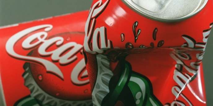Canettes de Coca-Cola.