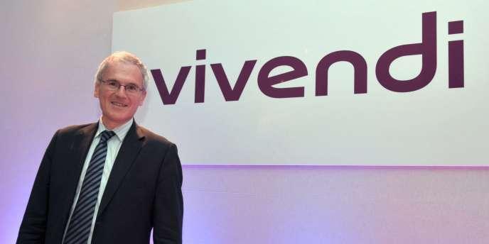 Jean-Bernard Lévy, X-Télécom, avait été propulsé président du directoire de Vivendi en 2005.