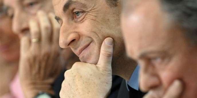 Nicolas Sarkozy, le 8 décembre 2009