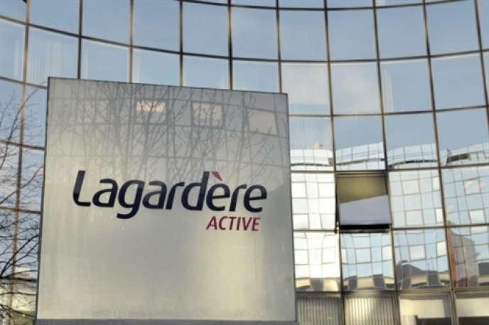 Le siège de Lagardère Active, à Levallois, en mars 2009.