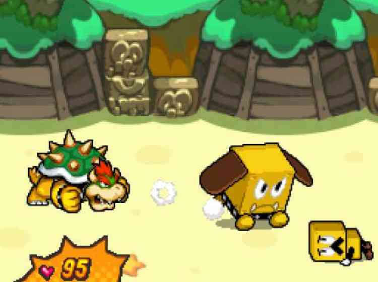 Mario & Luigi : Bowser's inside story