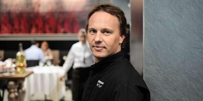 Nicolas Le Bec, chef lyonnais deux étoiles au Michelin.
