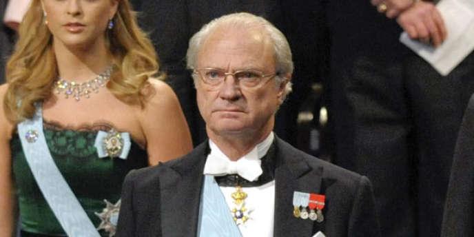 Le roi Carl XVI Gustaf à Stockholm en 2009.