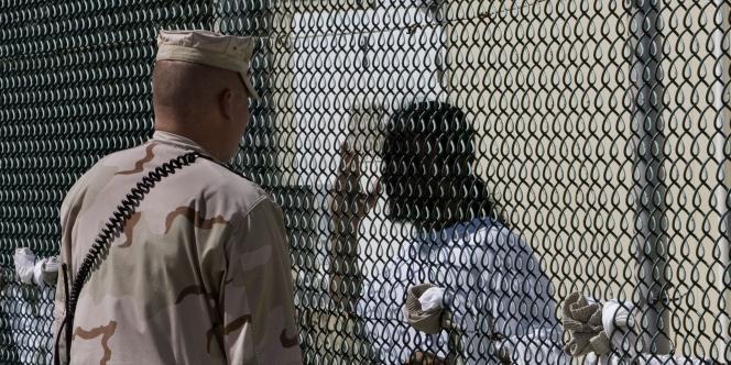 La prison de Guantanamo, à Cuba, en avril 2007.