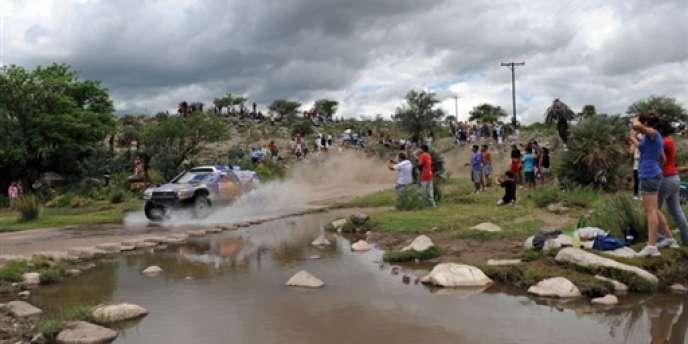 En 2010, le Paris-Dakar se déroulait déjà en Argentine