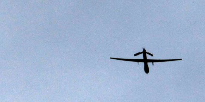Un drone Predator décolle de la base américaine de Kandahar, en 2009.
