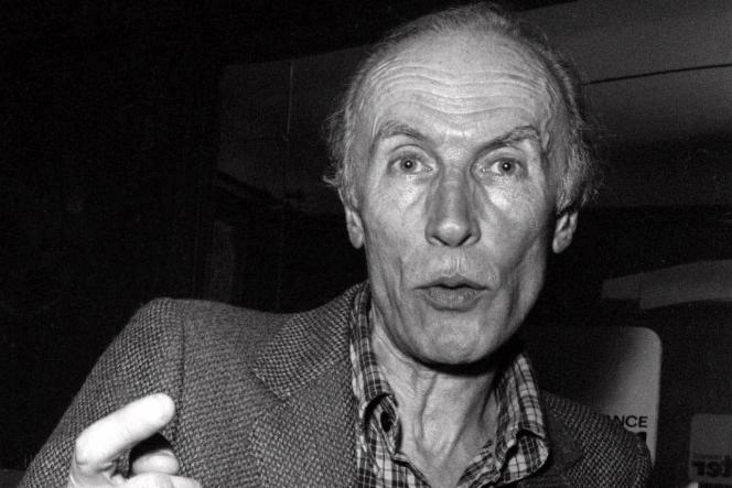 Eric Rohmer, en 1981.