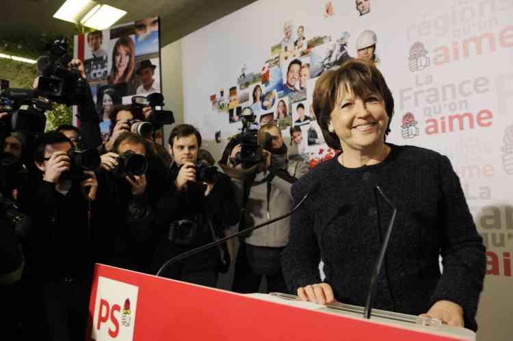 Voeux de Martine Aubry à la presse, 12 janvier