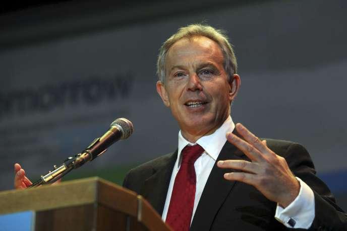 Tony Blair est l'un des orateurs les mieux payés de la planète.