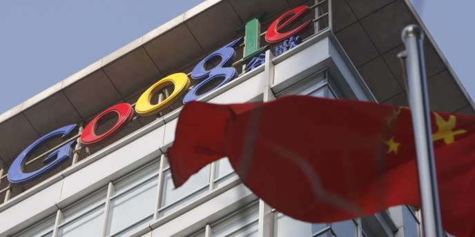 Des bureaux de Google, à Pékin.