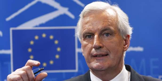 M. Barnier avance avec prudence mais détermination :