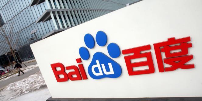 Le logo de Baidu.
